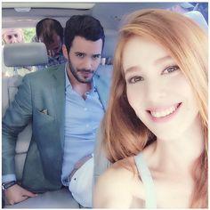 By lina Turkish Fashion, Turkish Beauty, Luxury Couple, The Shah Of Iran, Arab Wedding, The Best Series Ever, Elcin Sangu, Tv Awards, Couple Goals Relationships