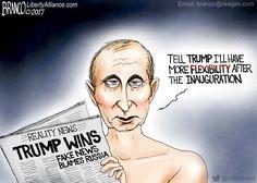 Cartoon: Biding his time - http://americanlibertypac.com/2017/01/cartoon-biding-time/ | #2016Elections, #Cartoons, #DonaldTrump | American Liberty PAC