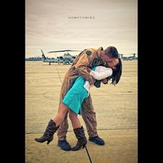 Military homecoming.