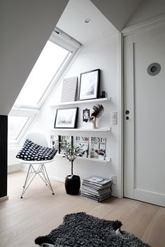 #attic #mansard #intedrioridea #mono #missdesign #interior #house #modern