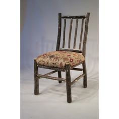 Rosalind Wheeler Lottie Rail Back Side Upholstered Dining Chair Upholstery Color: Apache Solid Wood Dining Chairs, Upholstered Dining Chairs, Dining Chair Set, Chair Upholstery, Public Seating, Western Furniture, Parsons Chairs, Recycled Furniture, Furniture Companies
