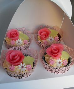 Mothers Day Cupcakes   Flickr - Photo Sharing!