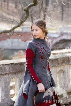 Exclusive Woolen Coat Red Riding Hood