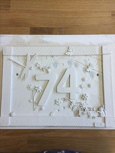 House number plaque ready for glazing. House Name Plaques, House Number Plaque, House Names, Wall Plaques, Pottery Houses, Clay Studio, Garden Studio, Address Plaque, Buttercup