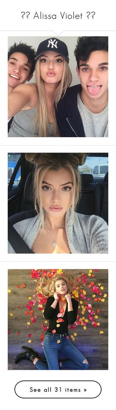 """""""✧♡ Alissa Violet ♡✧"""" by luni-salazar ❤ liked on Polyvore featuring alissa violet"""
