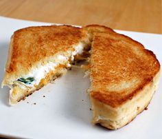 Jalapeno popper sandwich. I think I would dip it in a grape jelly.