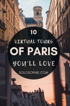 Paris online: Virtual Paris Tours: Visit Paris from Your Couch via the Internet