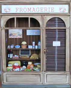 fromagerie 1/12. Les Miniatures de Mathilde