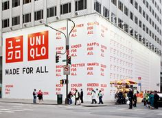Uniqlo construction #Hoarding #Barricade #graphics