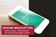 iPhone 5 Mockup - Photo & Vector by Nuff on Creative Market