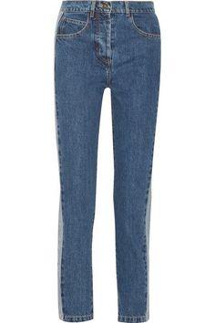Paul & Joe - Clamecy Paneled Slim Boyfriend Jeans - Mid denim -