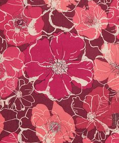 Liberty Art Fabrics Poppy Rose D Tana Lawn Cotton | Fabric | Liberty.co.uk
