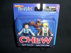 Comic Book Heroes Minimates Series 1 Chew Agent Tony Chu