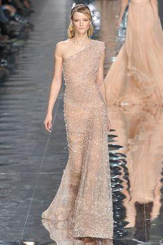 Naturally Modern - dress by Elie Saab.
