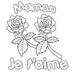 coloriage 217 dessin Roses