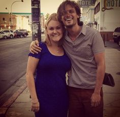 gublerpattinsonworld:  kghiloni OMG I just met Matthew Gray Gubler downtown! He couldn't have been nicer. Thanks for the picture @gublergram