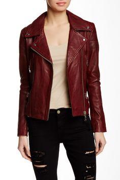 4d129a262 Doma | Washed Heavy Genuine Lamb Leather Jacket | HauteLook. ЯгненокОсенние  НарядыКожаная Куртка