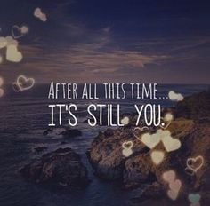 and it will always be YOU... i love you RON Medina! i still do... Happy 16th Wedding Monthsary Papa! #luvUstill -08052014