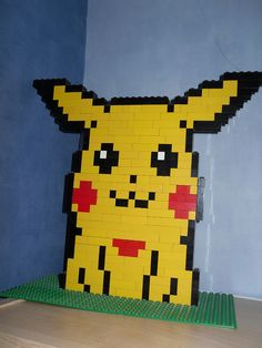 I've always wanted to make a Lego pika