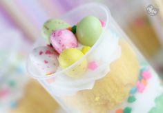 Easter push-up cake pops