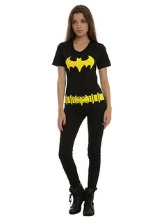 DC Comics Batman Belt Costume Girls T-Shirt | Hot Topic