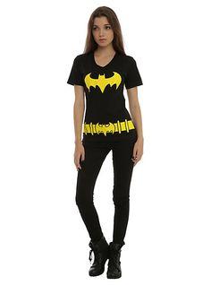 DC Comics Batman Belt Costume Girls T-Shirt | Hot Topic