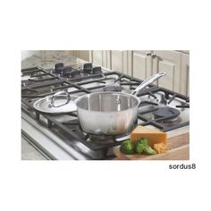 Cuisinart 719-16 Chef's Classic Stainless 1-1/2-Quart Saucepan with Cover #Cuisinart