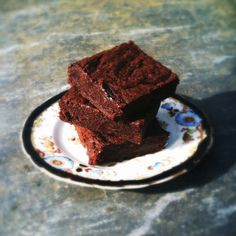 Laura Pope's chocolate fudgy brownies recipe from 'Gluton Free Me'