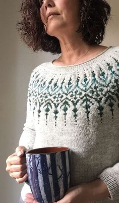 Ravelry: Gardengate pattern by Jennifer Steingass Buy 2 patterns, get 1 free! To receive your free pattern, add 3 patterns to your cart at the same time and the discount will apply before checkout. Fair Isle Knitting Patterns, Sweater Knitting Patterns, Knitting Stitches, Knitting Yarn, Knit Patterns, Free Knitting, Drops Patterns, Paper Patterns, Punto Fair Isle