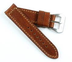 A great strap for adding some color to your watch. Hand made in Italy Panerai Watches, Italy, Handmade, Accessories, Clock, Italia, Hand Made, Handarbeit, Jewelry Accessories