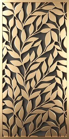 Laser Cut Screens, Laser Cut Panels, Decorative Metal Screen, Decorative Panels, Room Partition Designs, Wall Art Designs, Fashion Wall Art, Fashion Painting, Balcony Grill Design