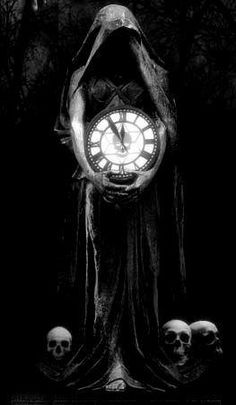 Death Clock: Poem by Wayne Brown Dark Fantasy Art, Tifa Final Fantasy, Beautiful Fantasy Art, Dark Art, Grim Reaper Art, Grim Reaper Tattoo, Don't Fear The Reaper, Elves Fantasy, Fantasy Castle