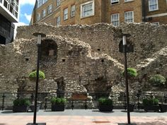 Where To See Roman London | Londonist -visible stretches can be found along the…