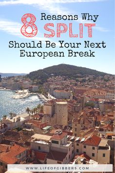 8 Reasons Why Split Should Be Your Next European Break - Life of Gibbers Europe Travel Guide, Europe Destinations, Travel Guides, Croatia Travel, Visit Croatia, Croatia Tourism, European Breaks, Amsterdam, London