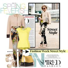 Fashion Week Street Style, created by stylejournals on Polyvore