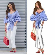 In love with this outfit and it perfect accessories  by @deemaalasadi 💎💎💎 #LilyFashionSketch #fashionillustration #fashionsketch #illustration #illustrator #sketch #art #artwork #artshelp #digitalwork #artist  #fashionblogger #streetstyle #streetfashion #fashionista #fashionblogger #ootd #ootn #outfit #lookoftheday #lookbook #photooftheday #sketchoftheday  #моднаяиллюстрация #иллюстрация #samsungsketch Fashion Design Sketchbook, Fashion Design Drawings, Fashion Sketches, Drawing Fashion, Fashion Illustrations, Black Girl Makeup, Fashion Figures, Daily Wear, Designs To Draw