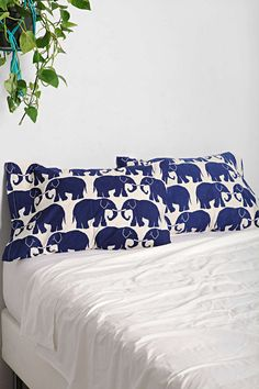 These cozy pillowcases. | 32 Things Every Elephant Lover Needs In Their Life