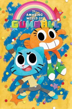 Title Announcement: The Amazing World of Gumball Comes To KaBoom | Comic Bastards