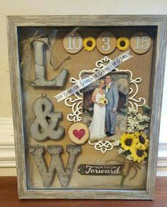 Wedding shadow box baby shadow box marriage gift husband wife display picture flowers Wedding shadow box baby shadow box by CountryCharmedCrafts on Etsy Fall Wedding, Dream Wedding, Wedding Ideas, Wedding Stuff, Wedding 2017, Post Wedding, Wedding Colors, Wedding Keepsakes, Wedding Shadowbox