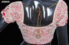 Beads and Pearls Saree Blouses | Saree Blouse Patterns