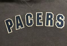 Indiana Pacers Gray Blue X-Large Sweater XL NBA #NBA #IndianaPacers