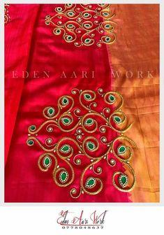 Cutwork Blouse Designs, Best Blouse Designs, Simple Blouse Designs, Embroidery Neck Designs, Bridal Blouse Designs, Blouse Neck Designs, Beaded Embroidery, Maggam Work Designs, Hand Work Blouse Design