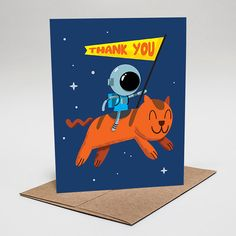 Thank You: Space Cat from Genuine HaHa - Shop Local Nov 25/26 #SFetsy Indie Holiday Emporium Pier 35 #SanFrancisco #IHESF2017 #ShopSmall #EtsyLocal