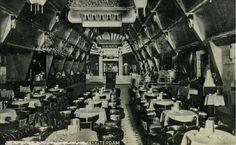 Het interieur van dancing Cosmopoliet aan de Schiedamsedijk. 1935 GAR