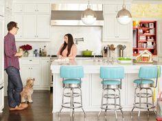 Our 50 Favorite White Kitchens | Kitchen Ideas & Design with Cabinets, Islands, Backsplashes | HGTV