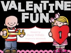 Valentine's Day Fun {Freebie}... perfect for k-2