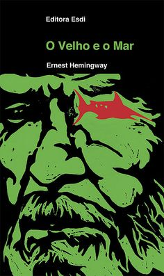 O Velho e o Mar (The Old Man and The Sea) - Hemingway - book cover by Lucas Lima