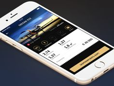 Private jet booking concept app