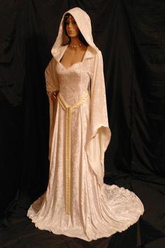 medieval renaissance ELVEN FAIRY dress custom by camelotcostumes, $260.00