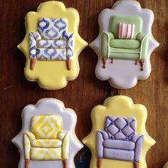 Chair Cookies | Bambella Cookies